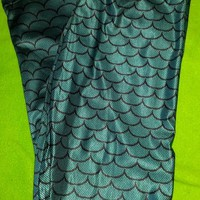 Mermaid Scales Leggings (Small-XL) from CherryKreations21