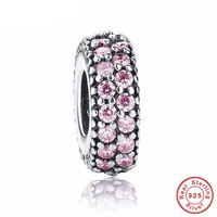 INSPIRATION SPACER Bead / Charm 925 Sterling Silver Authentic fit Pandora Bracelet