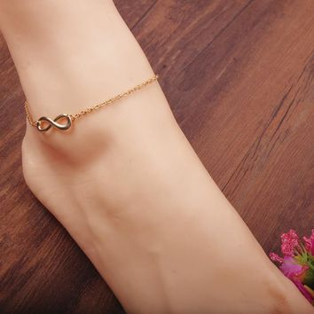 Shiny Stylish Sexy New Arrival Jewelry Gift Cute Fashion Gold Silver Accessory Pendant Ladies Anklet [6768753607]