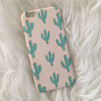 Cactus iPhone 7 5se 5s 6 6s Plus Case Superior Quality Original Non-slip Cover + Free Gift Box