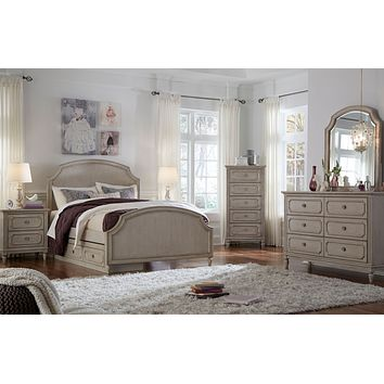 7870 Emma Arched Panel Bed