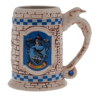 Wizarding World Of Harry Potter Ravenclaw Sculpted Ceramic Stein Mug Universal