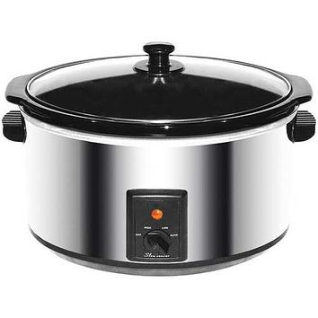 Brentwood Appliances SC-170S 8-Quart Stainless Steel Slow Cooker