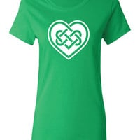 heart celtic Irish pub beer bar scotland saint st. Patrick's Paddy's ireland scottish T-Shirt Tee Shirt Mens Ladies Womens mad labs ML-298