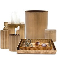 Redon Antique Brass Bath Accessories Collection