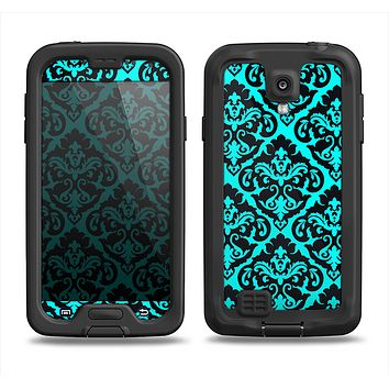 The Delicate Pattern Blank Samsung Galaxy S4 LifeProof Fre Case Skin Set