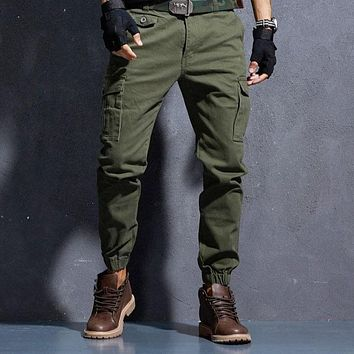 Military Trousers Hip Hop Pants
