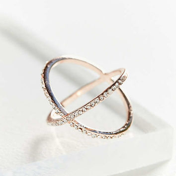 X Marks The Spot Ring | Urban Outfitters