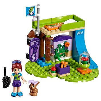 Compatible legoings Friends Series The Mia's Bedroom Set 96Pcs Building Blocks Toys For Children with 41327 Girls Gift 01052