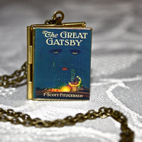 The Great Gatsby Book Locket