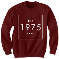 THE 1975 BAND SWEATSHIRT 1975 BAND CONCERT TICKETS CELEBRITY SHIRTS 1975 BAND MERCH 1975 LOGO COOL SHIRTS CHRISTMAS GIFTS BIRTHDAY GIFTS