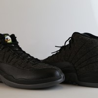 BC SPBEST Nike Air Jordan Retro 12 Wool Oregon Ducks Custom PE Official Tinker Signed size 14 (NO Codes)