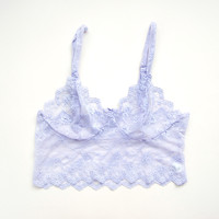 Lilac Lace Bralette by Brighton Lace