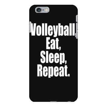 EAT, SLEEP, VOLLEYBALL, REPEAT iPhone 6/6s Plus Case