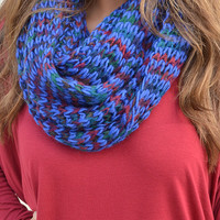 Where I Come From Scarf: Blue/Multi