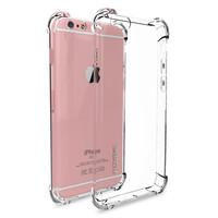 FLOVEME Crystal Clear Soft TPU Case for iPhone 7 Plus 7 6s 6 Plus Anti Knock Protective Back Cover Phone Cases Capa Funda