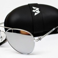 Outray Men's Or Women's Aviator Sunglasses BT10 Mirrored