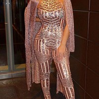 Siane Sequin Jumpsuit