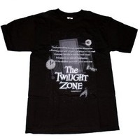 Twilight Zone Monologue TV Show T-Shirt Tee