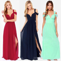 Fashionable Hot Popular Sexy Annivesary Dinner Party Night Prom Long Dress b86