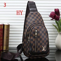 Louis Vuitton LV Women Fashion Leather Chest Bag Crossbody Shoulder Bag Satchel