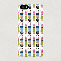 Tina and Louise Belcher from Bobs Burgers Cartoon Show iPhone 4 4s 5 5s 5c Samsung Galaxy S3 S4 Case