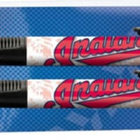 National Design Cleveland Indians Grip Pen and Pencil Set in Pillow Pack (11014-GCK)