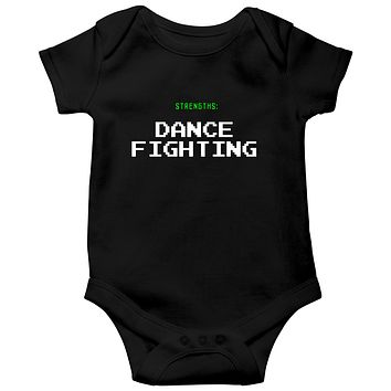 Strengths Dance Fighting  Baby Bodysuits