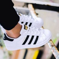 Fashion Online Adidas Women Casual Flats Sneakers Sport Shoes