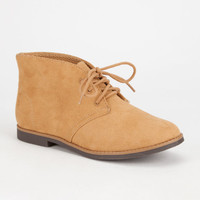 Soda Play Chukka Womens Booties Chestnut  In Sizes