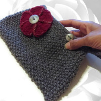 Gray Clutch, Red Clutch, Silver Clutch, Colorful Purse, Flower Clutch, Multicolor Handbag, Knitted Clutch, Knitted Purse, Knitted Handbag
