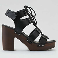 AEO Gladiator Heeled Sandals , Black