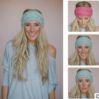 Crochet Headband 9 Colors Winter Knit Hairband