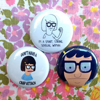 Tina Belcher Button Pick One
