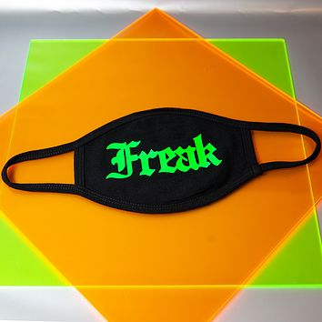 Neon Freak Mask