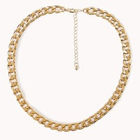 Street-Chic Curb Chain Necklace
