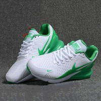 Nike Trending Woman Men Casual Running Sneakers Sport Shoes Green I