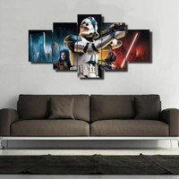 Star Wars StormTrooper Canvas Wall Art Print on Canvas Picture