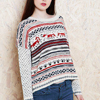BDG Fox Jumper at Urban Outfitters