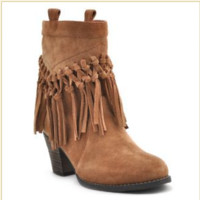 Sbicca Sound Booties-tan