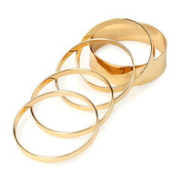Mirrored Bangle Set - Accessories - Shop All - 1000116774 - Forever 21 EU English