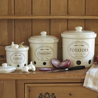 Chefs Fresh Valley Canisters SET of 3