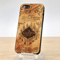 Harry Potter marauders map - iPhone Case Cover, iPhone 4 Cace, iphone 4S Case, iPhone 5 Case