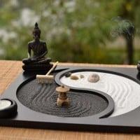 The Exhibition Art Zen Yoga Sand Plate