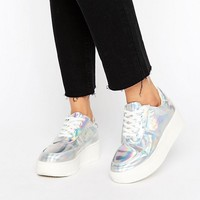 Truffle Collection Flatform Sneaker at asos.com