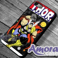 Thor The Avenger - iPhone 4/4s/5 Case - Samsung Galaxy S3/S4 Case - Blackberry Z10 - Black or White