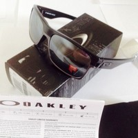 Oakley POLARIZED TWOFACE sunnies pol black/black irid authentic+ oakley warranty