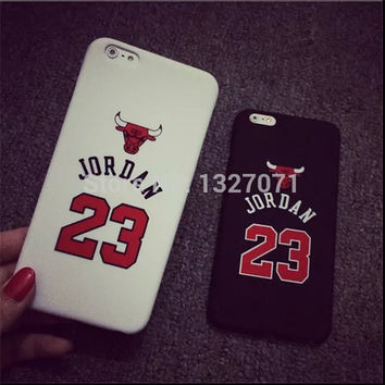 "No.23 Jordan Phone Case For Apple iPhone 5G 6 4.7"" 6 plus 5.5"""