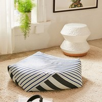 Geometric Floor Pouf | Urban Outfitters