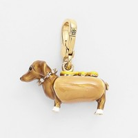 Juicy Couture Hot Dog Dachshund Charm | Nordstrom